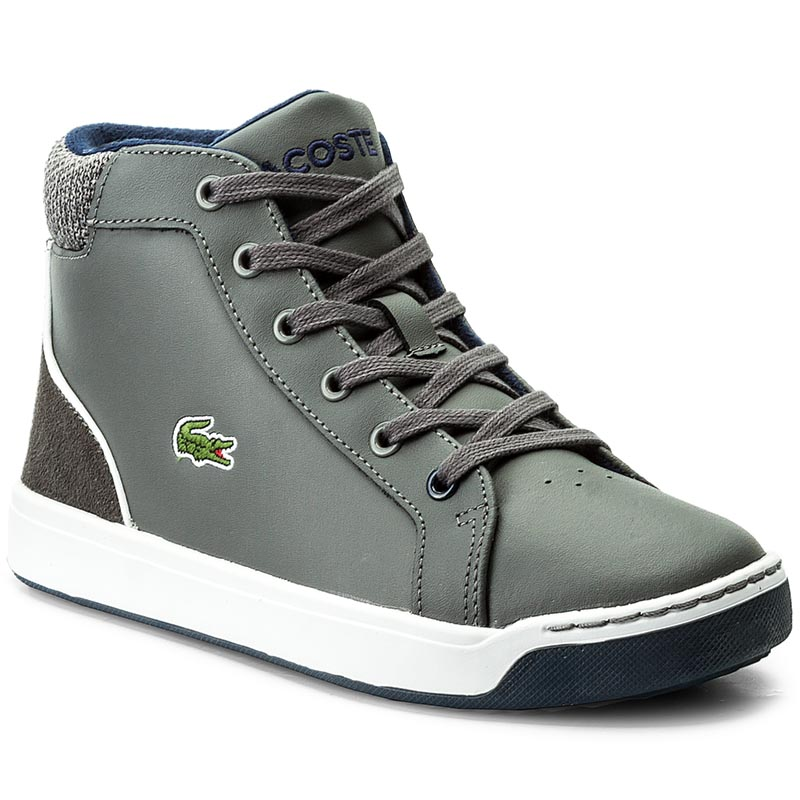 Sneakersy LACOSTE - Explorateur Lace 317 1 Caj 7-34CAJ0003248 Dk Grey