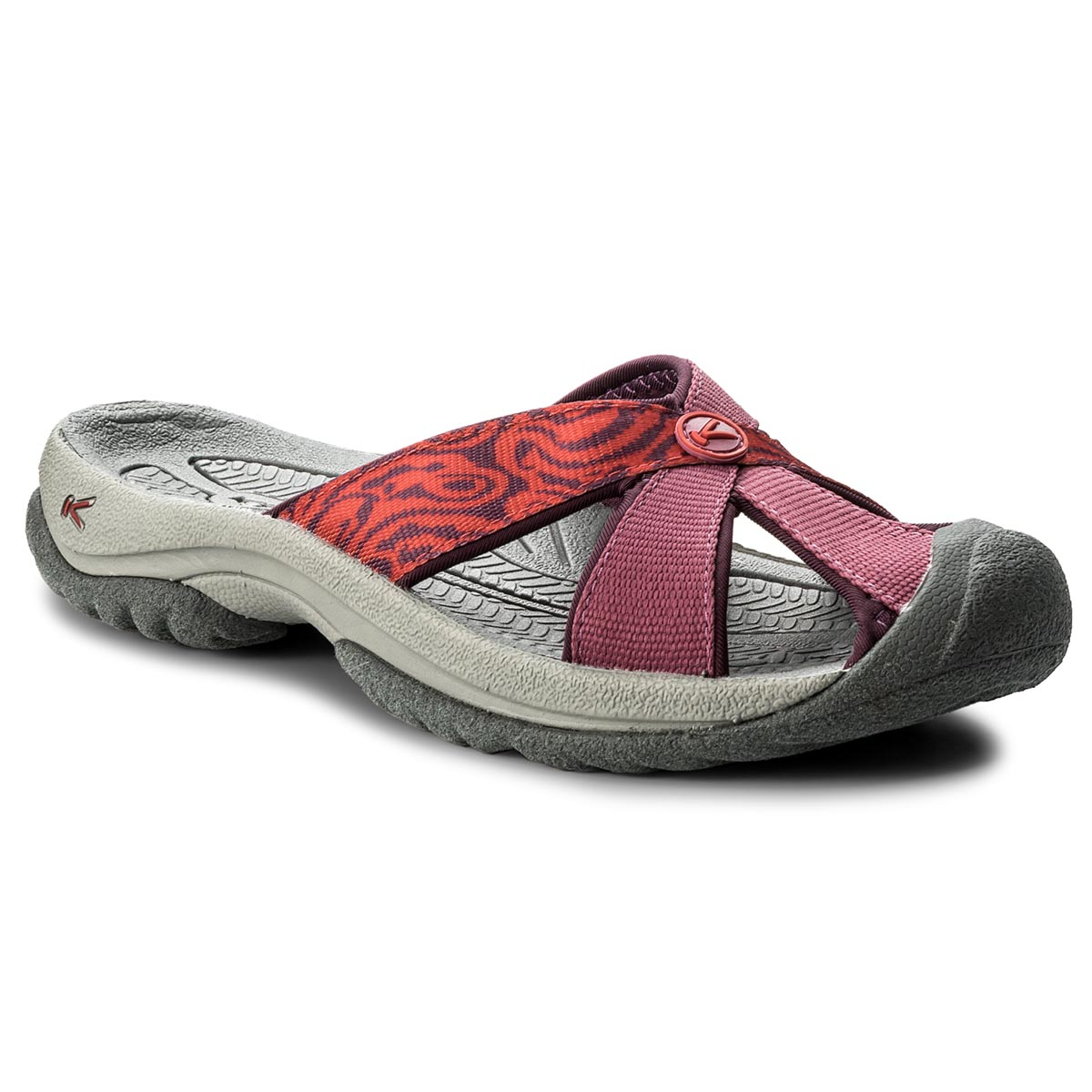 Klapki KEEN - Bali 1018224 Red Violet/Boysberry