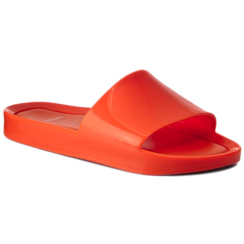 Klapki MELISSA - Beach Slide Ad 31754  Neon Orange 06716