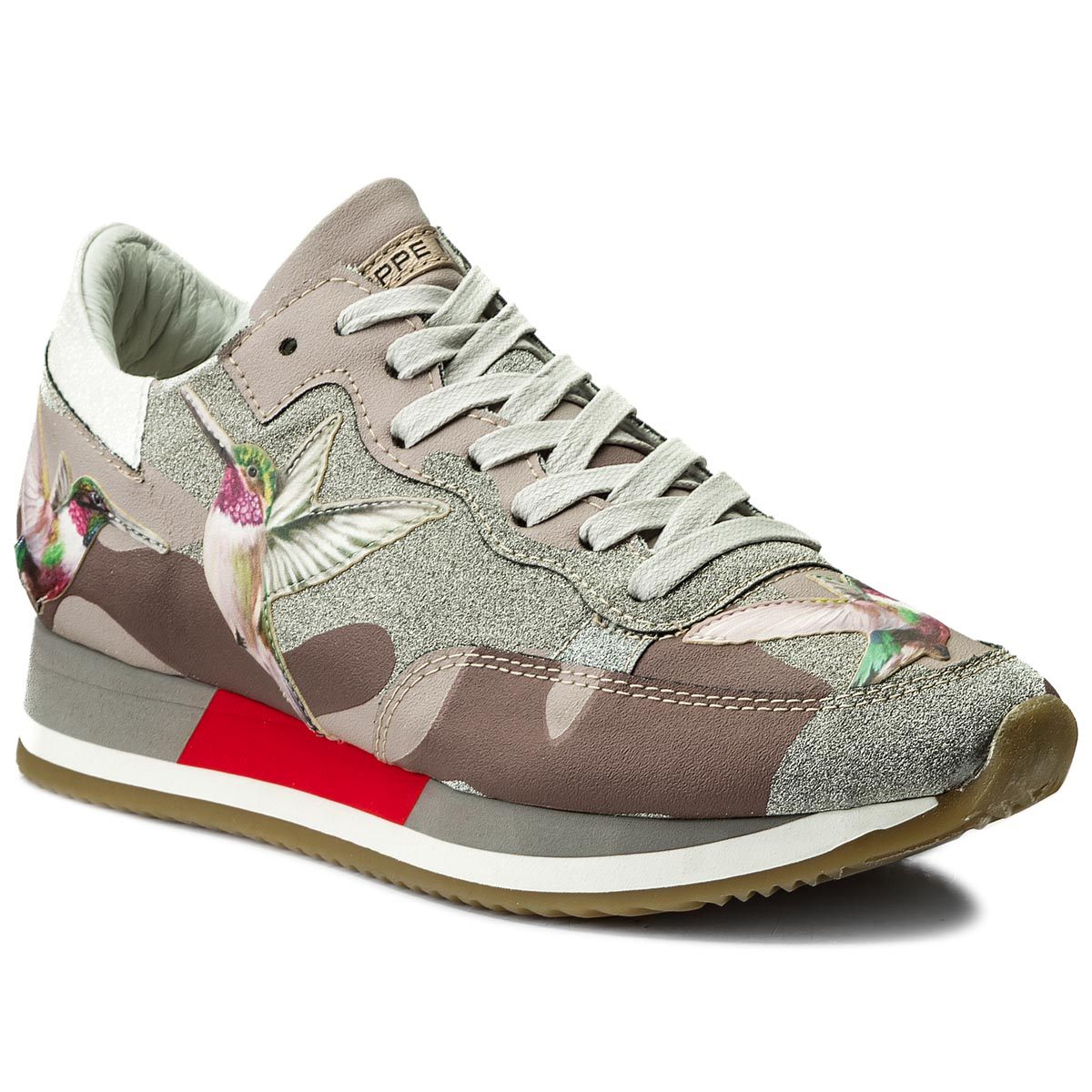 Sneakersy PHILIPPE MODEL - Etoile TBLD BG03 Tropical Birds Mud Colibri