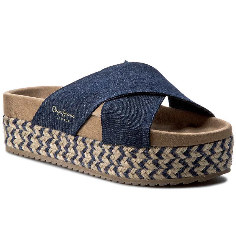 Espadryle PEPE JEANS - Rodeo Denim PLS90229 Denim 559