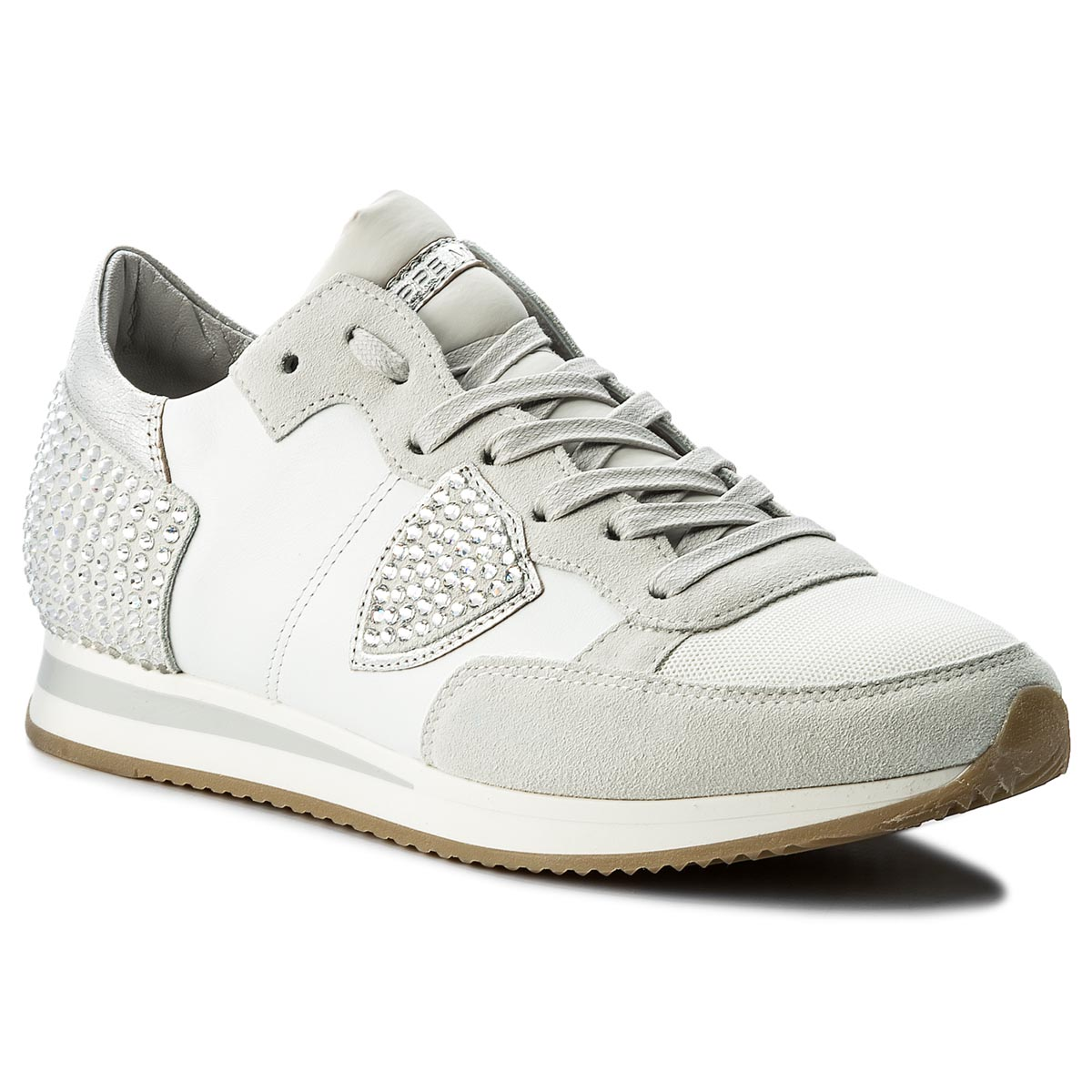 Sneakersy PHILIPPE MODEL - Tropez Low TRLD DV11 Diamond Blanc