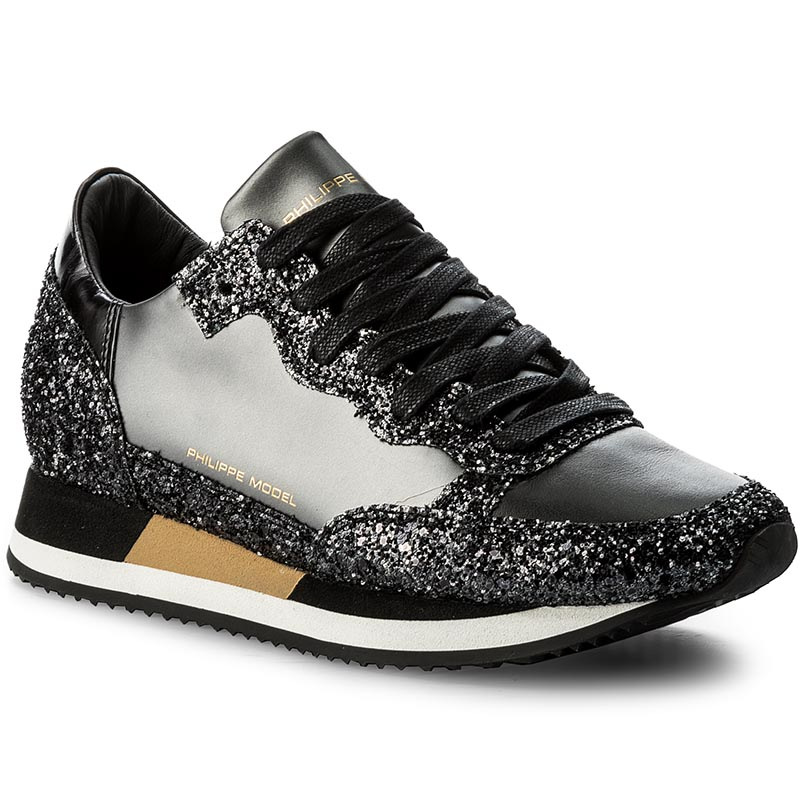 Sneakersy PHILIPPE MODEL - Paradis CHLD MG17 Metal Noir