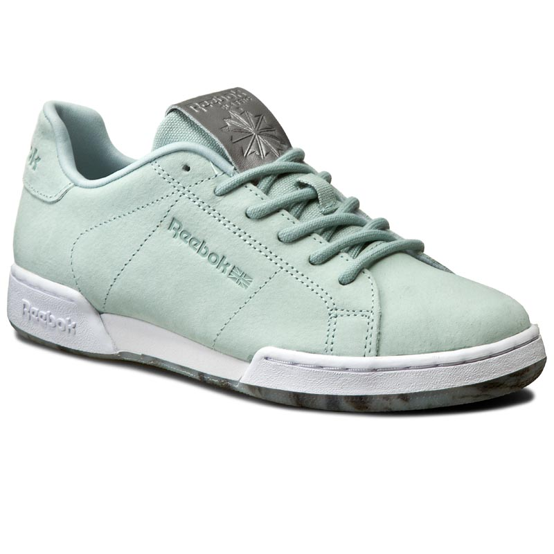 Buty Reebok - Npc II Ne Met BD1523 Seaside Grey/White/Pewter