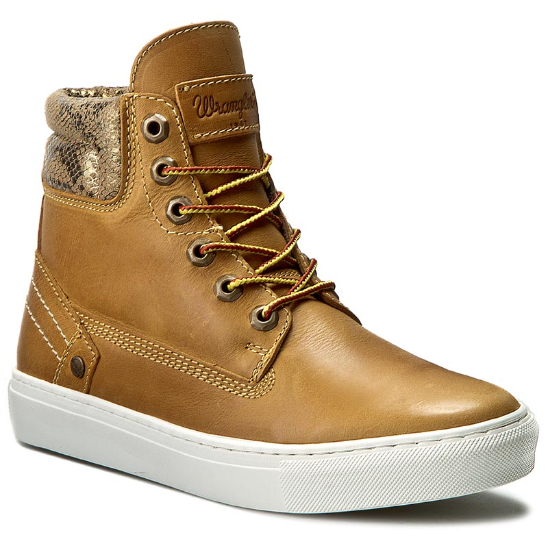 Sneakersy WRANGLER - Historic WL162560 Tan Yellow 24
