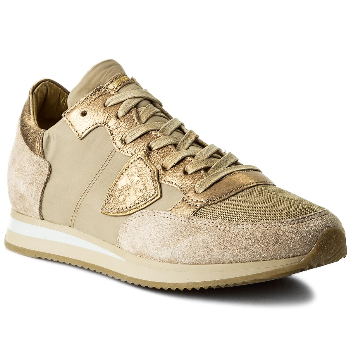 Sneakersy PHILIPPE MODEL - Tropez TRLD W001 Mondial Boue/Or