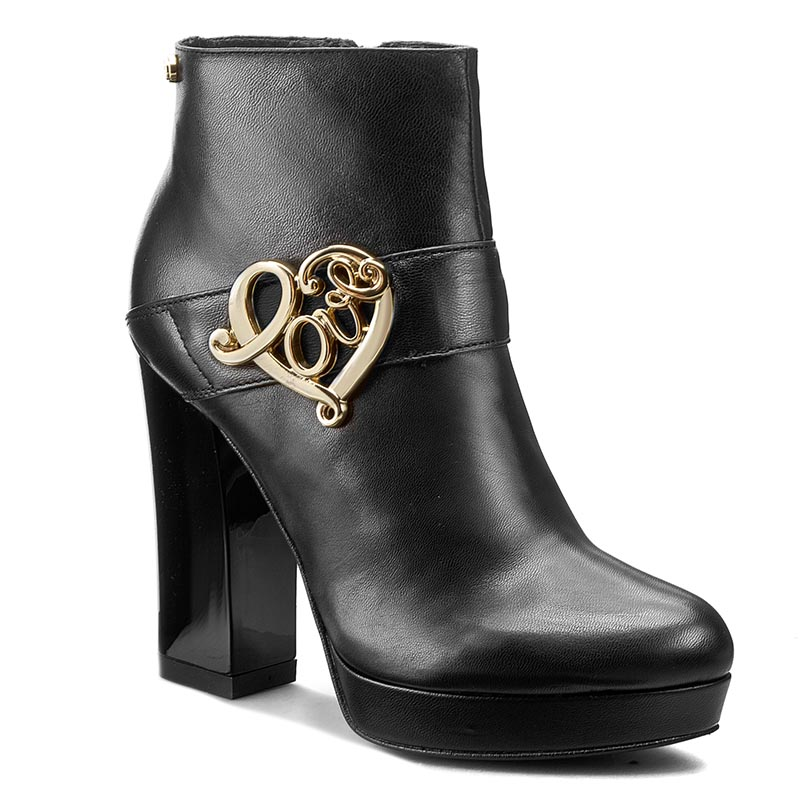 Botki LOVE MOSCHINO - JA2112CC02JC0000 Nero