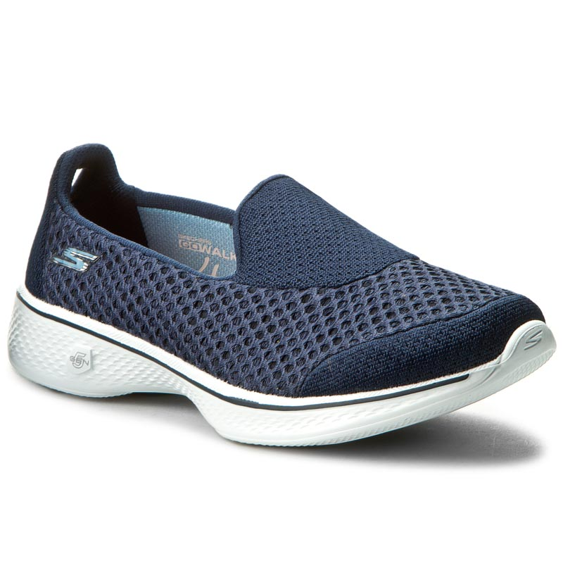 Buty SKECHERS - Kindle 14145/NVW Navy/White