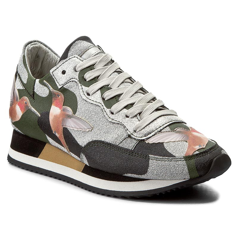 Sneakersy PHILIPPE MODEL - Etoile TBLD BG08 Tropical Birds Vert