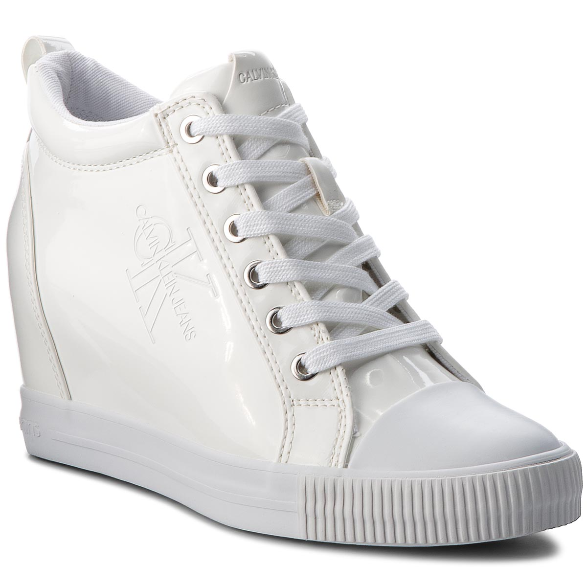 Sneakersy CALVIN KLEIN JEANS - Ritzy RE9799 White