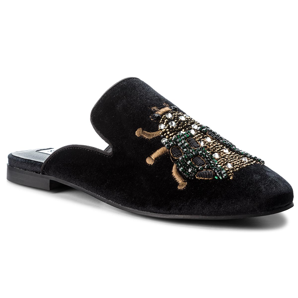Klapki STEVE MADDEN - Hugh Loafer 91000712-09052-01003 Black Multi
