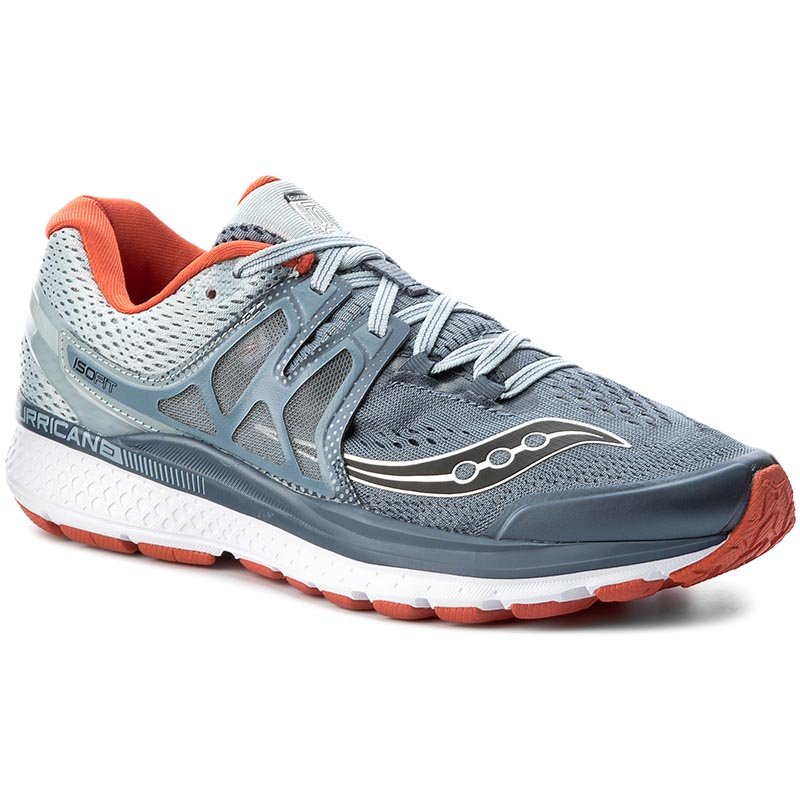 Buty SAUCONY - Hurricane Iso 3 S20348-4 Gry/Blu/Red