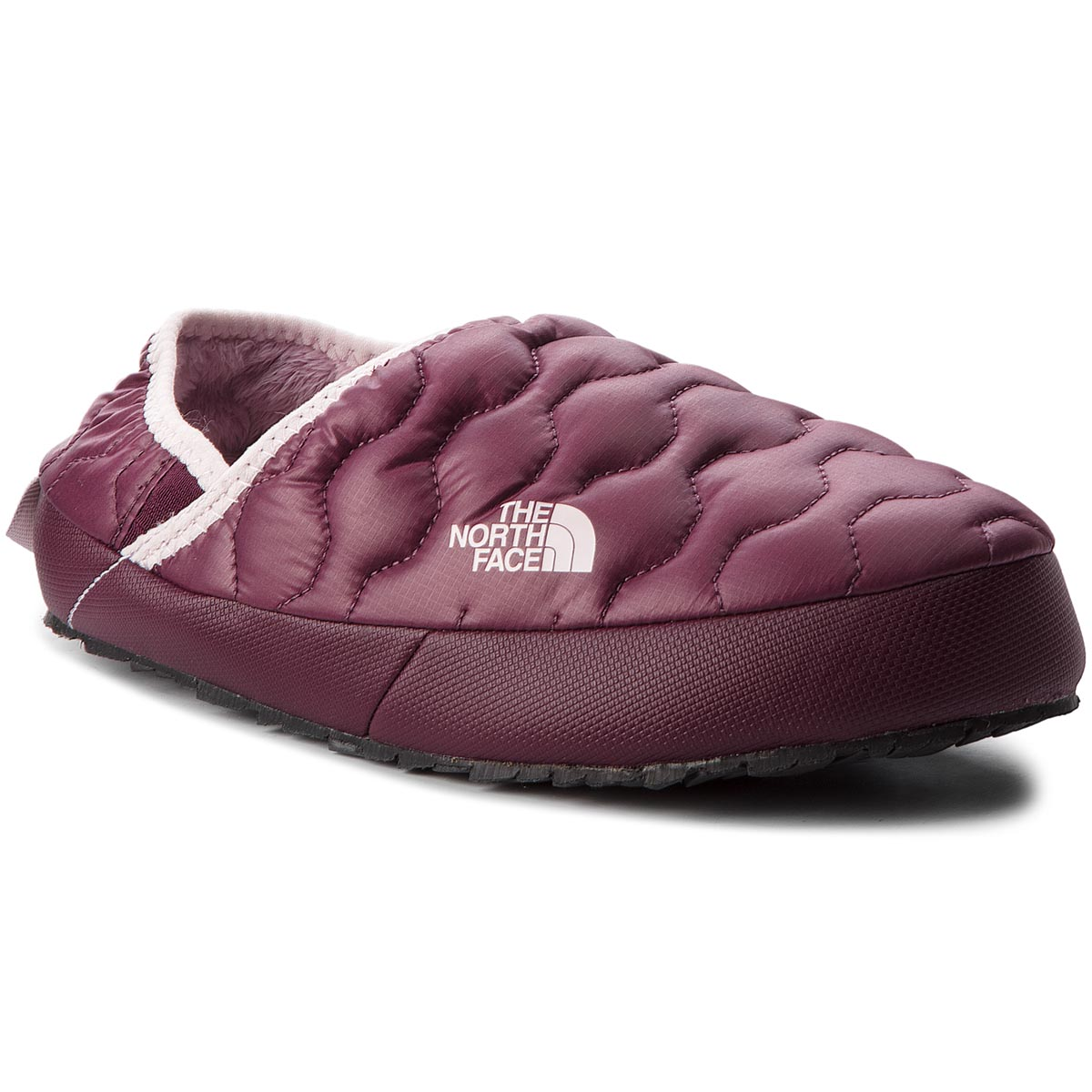 Kapcie THE NORTH FACE - Thermoball Traction Mule IV T9331F5UF Shiny Fig/Burnished Lilac