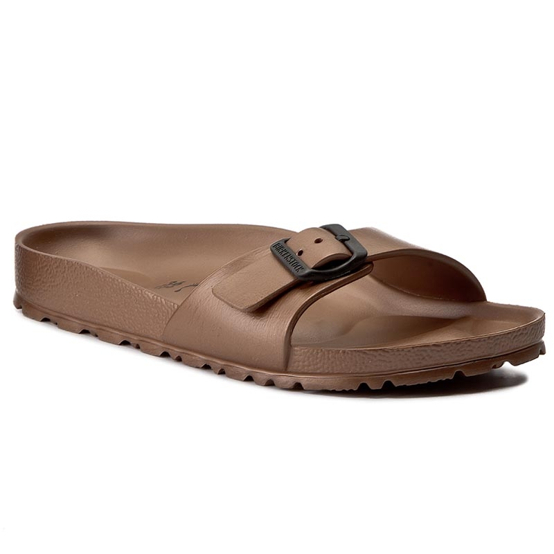 Klapki BIRKENSTOCK - Madrid 1001504 Copper