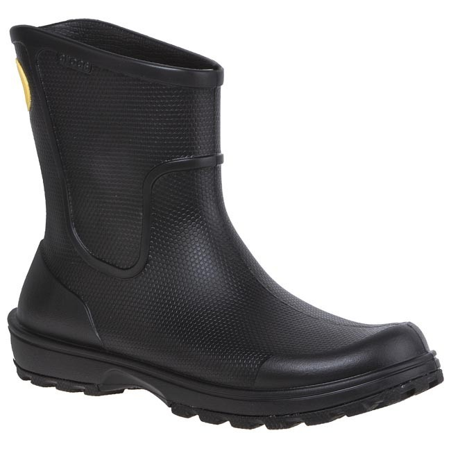 Kalosze CROCS - Wellie Rain Boot 12602 Black