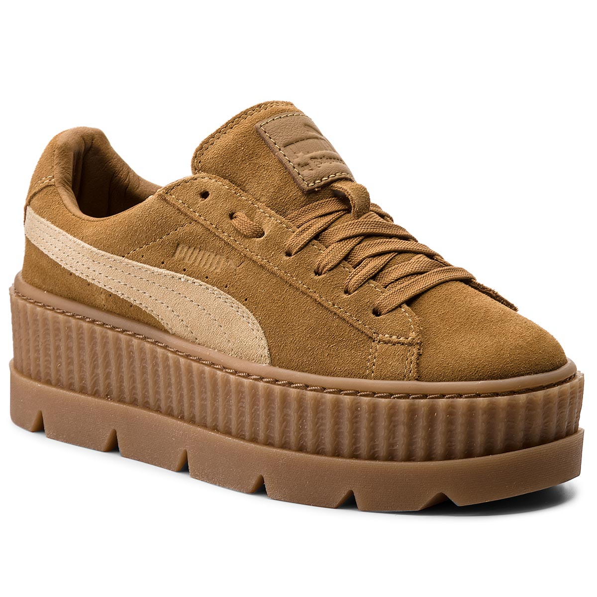 Sneakersy PUMA - Cleated CreeperSuede 366268 02 Golden Brown/Lark