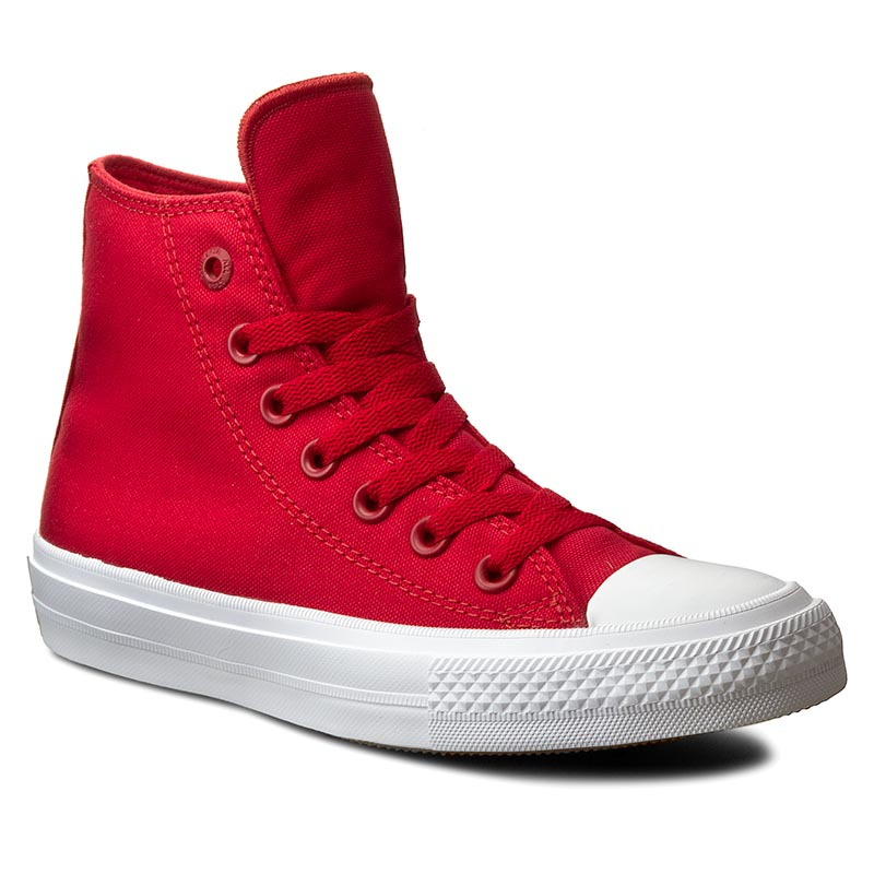 Trampki CONVERSE - Ct II Hi 150145C Salsa Red/White/Navy