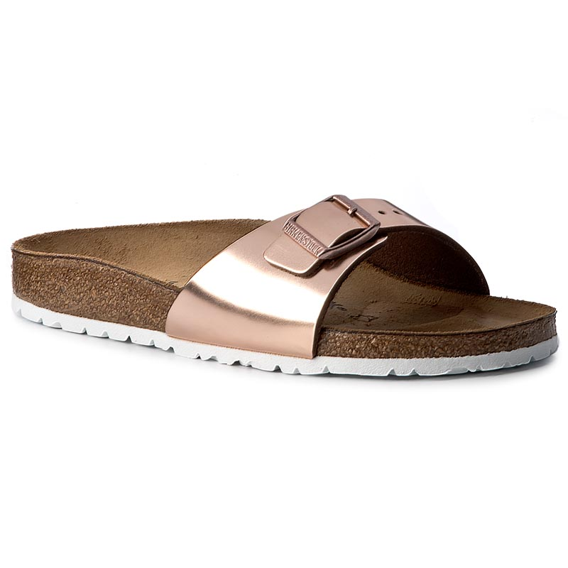 Klapki BIRKENSTOCK - Madrid Bs 1005051  Metallic Copper