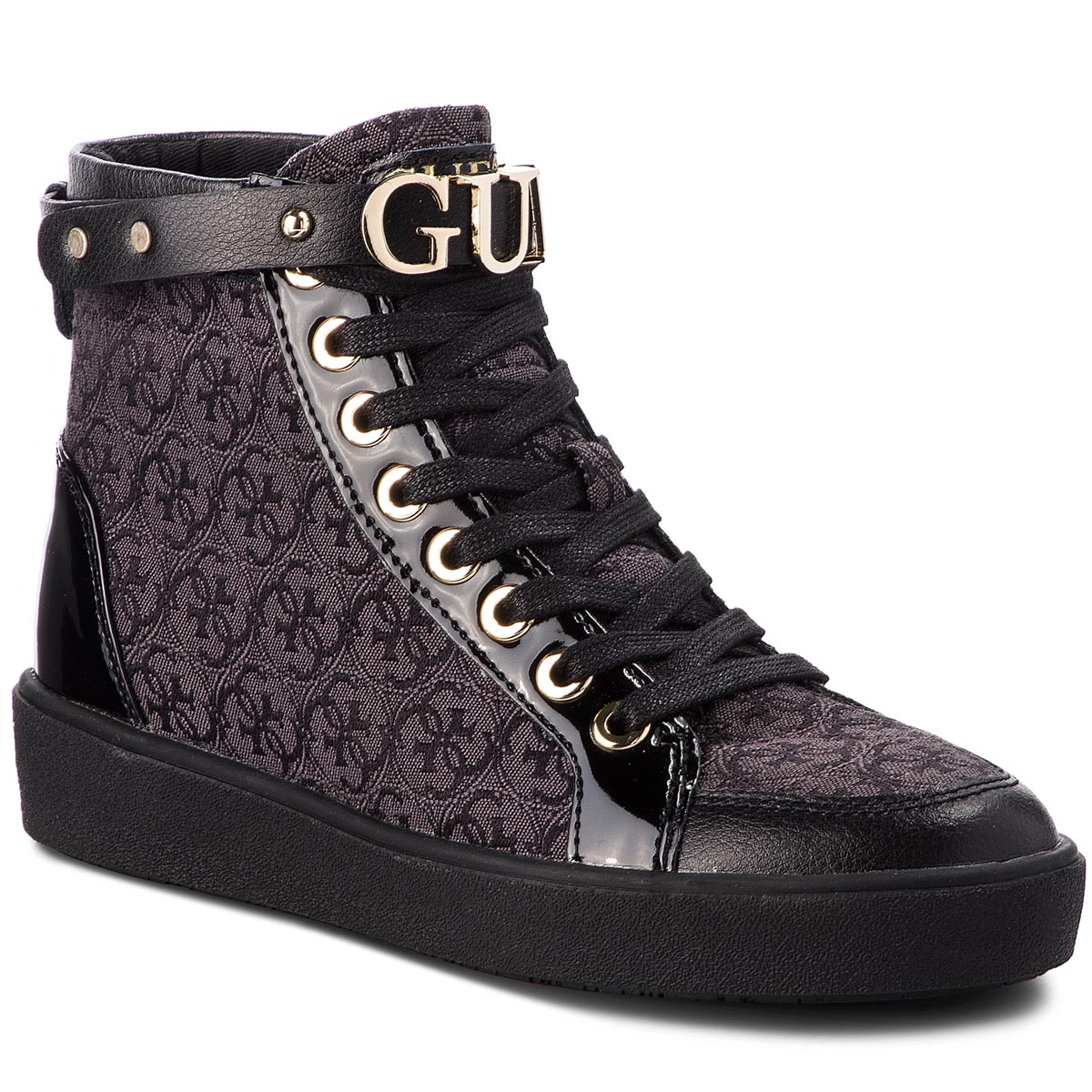 Sneakersy GUESS - FLGRC3 FAL12  BLKBL