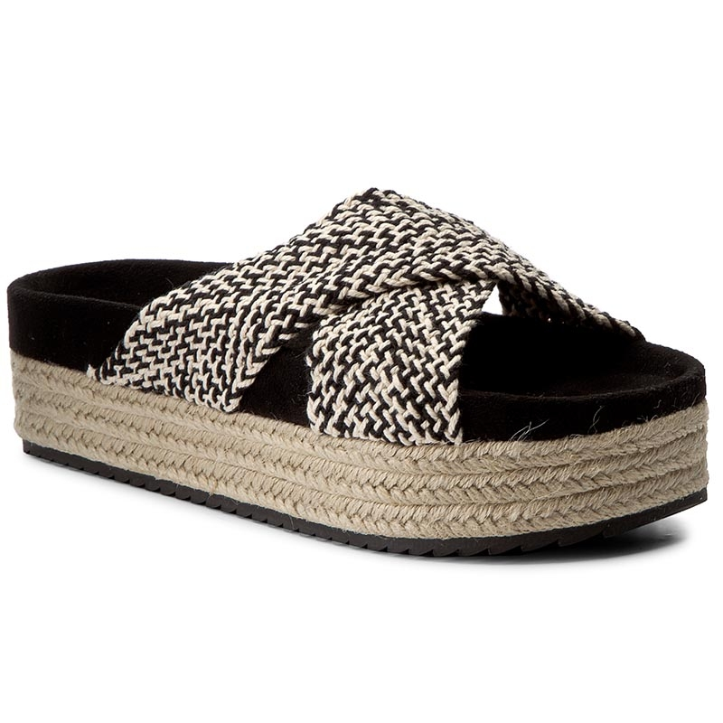 Espadryle PEPE JEANS - Rodeo Tape PLS90228 Black 999