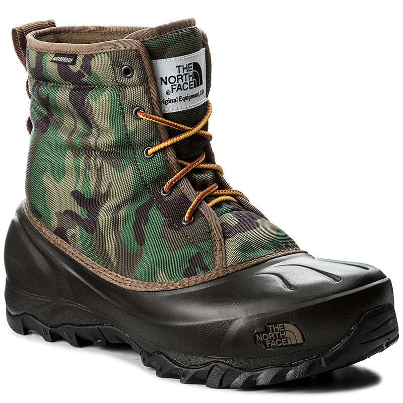 Śniegowce THE NORTH FACE - Tsumoru Boot T93MKSYRL Black Forest Woodland Camo/Tnf Black