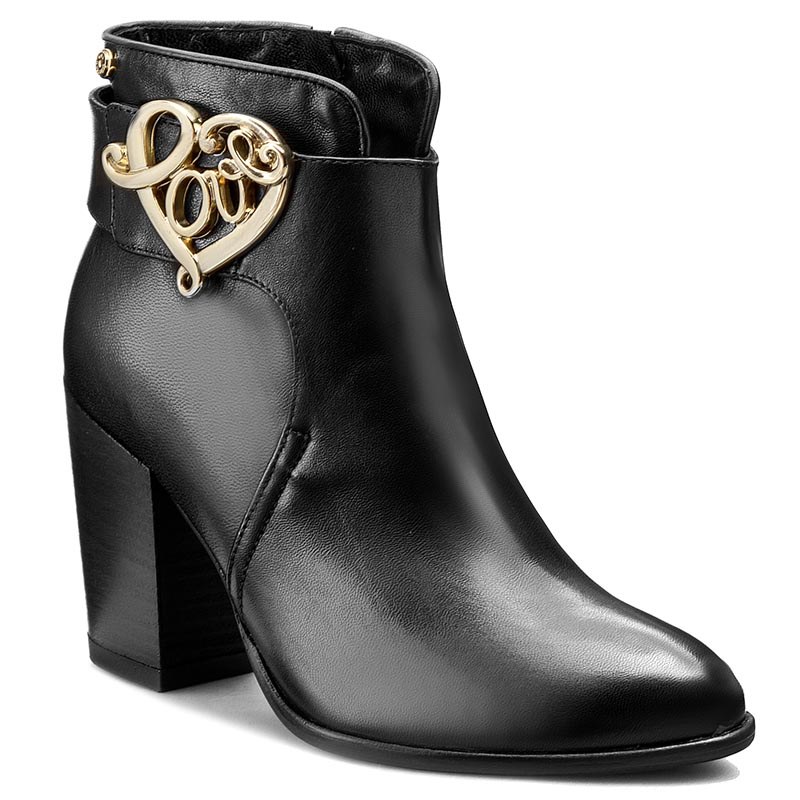 Botki LOVE MOSCHINO - JA21139C02JC0000 Nero