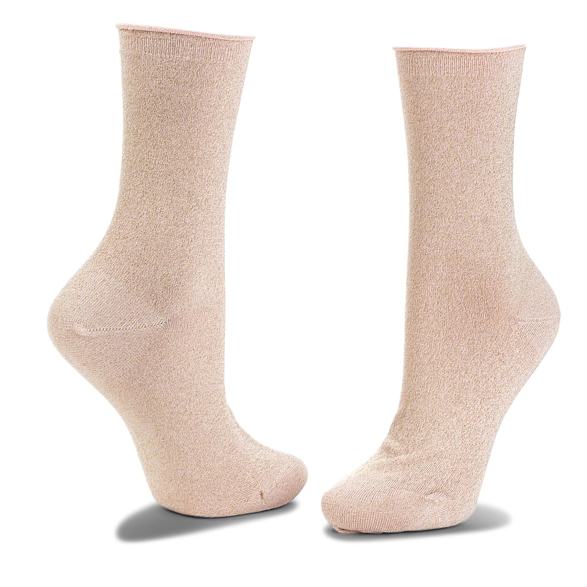 Skarpety Wysokie Damskie JOOP! - Lurex Sock Ier 760.059 Marrakesh Rose 4200