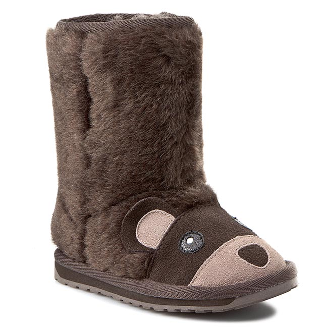 Buty EMU AUSTRALIA - Brown Bear K11104 Chocolate