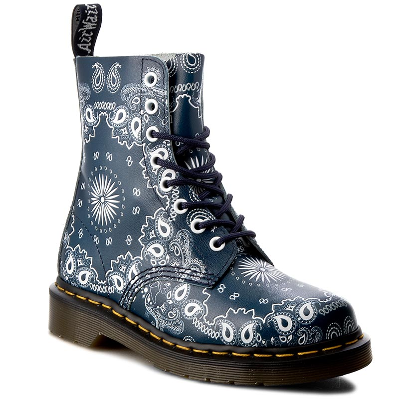 Glany DR. MARTENS - Pascal 21864411 Navy/White