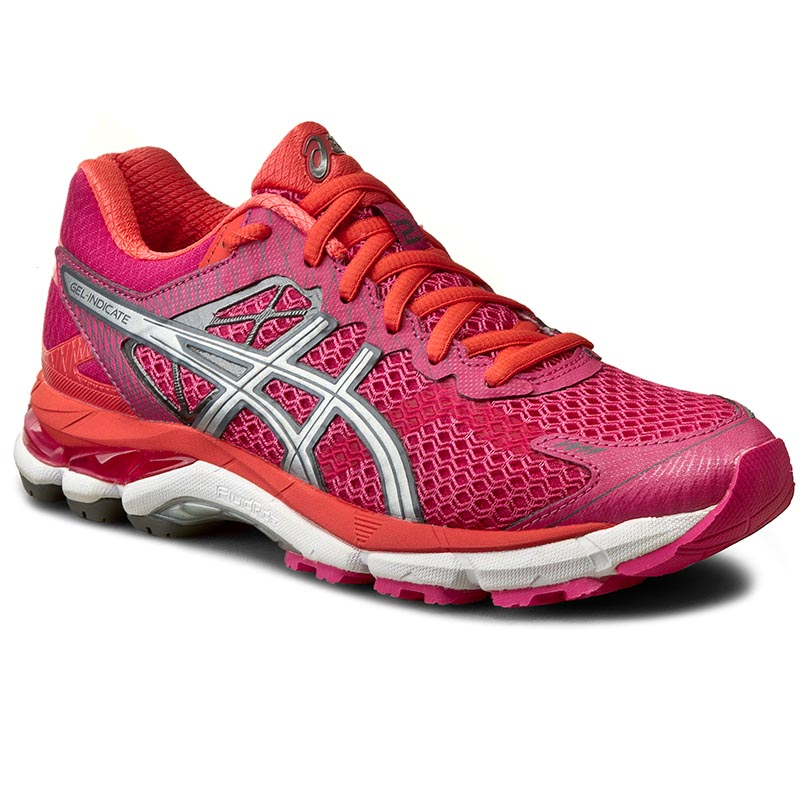 Buty ASICS - Gel-Indicate 2 T65SQ Fuchsia Purple/Silver/Hot Coral 2193