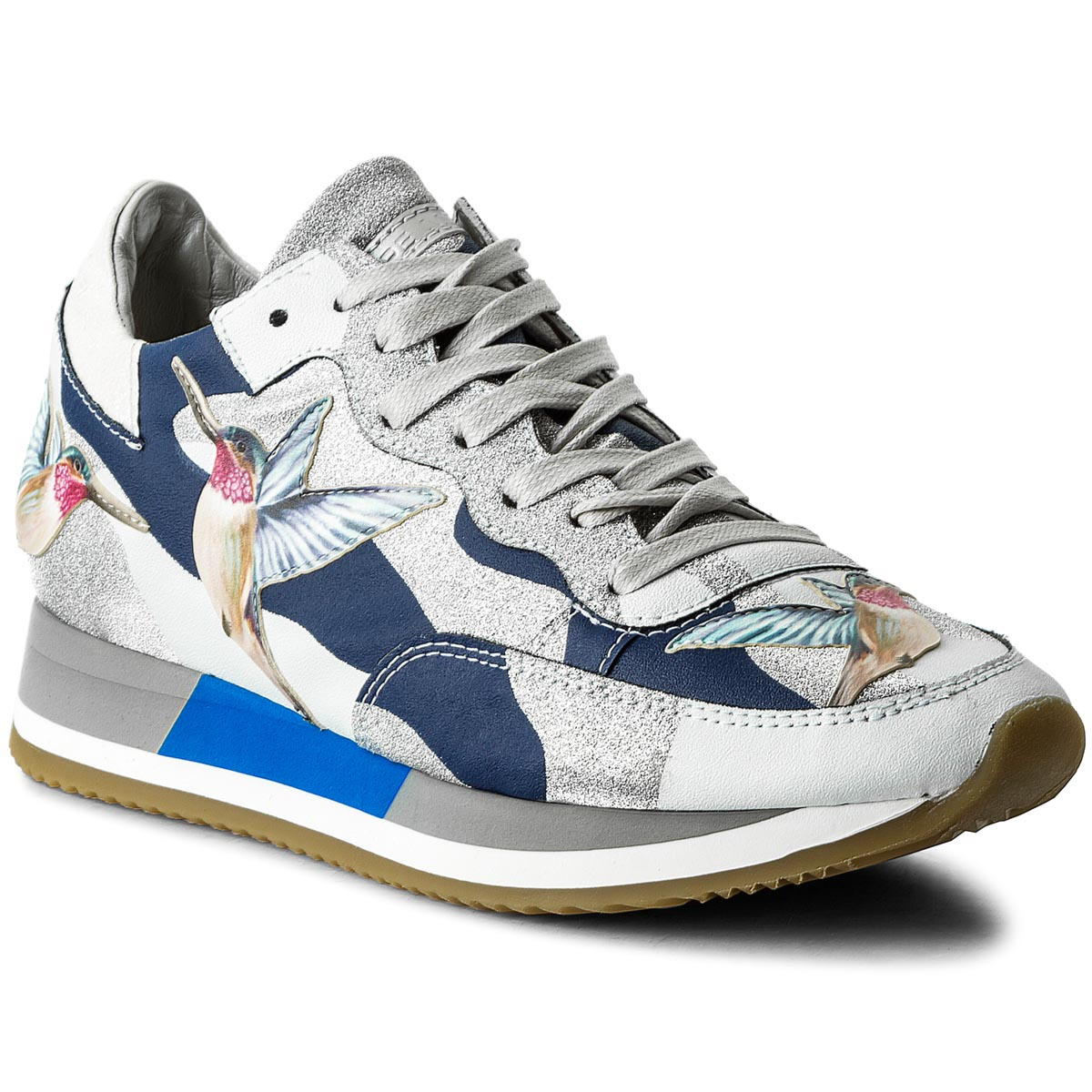 Sneakersy PHILIPPE MODEL - Etoile TBLD BG10 Tropical Bird Bleu