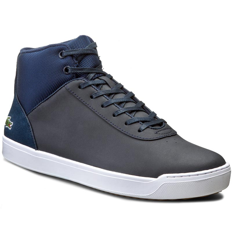 Sneakersy LACOSTE - Explorateur Ankle 316 2 7-32CAW0121003 Nvy