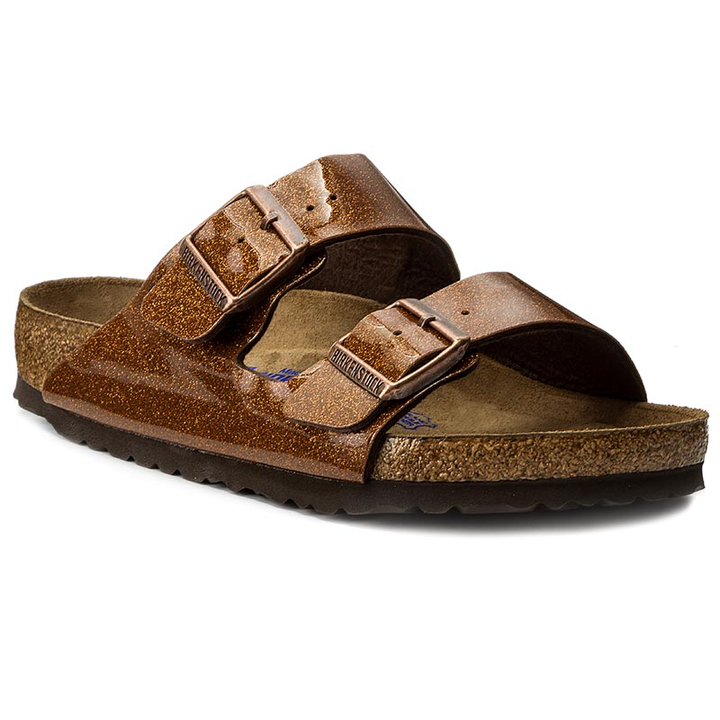 Klapki BIRKENSTOCK - Arizona 0057641 Magic Galaxy Bronze