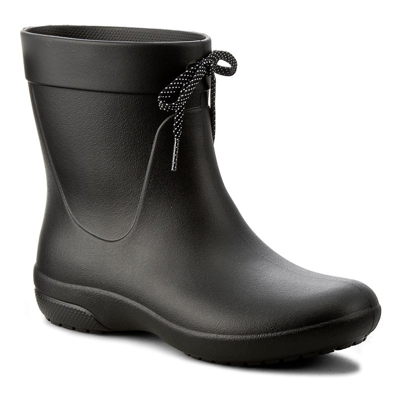 Kalosze CROCS - Freesail Shorty Rainboot 203851 Black