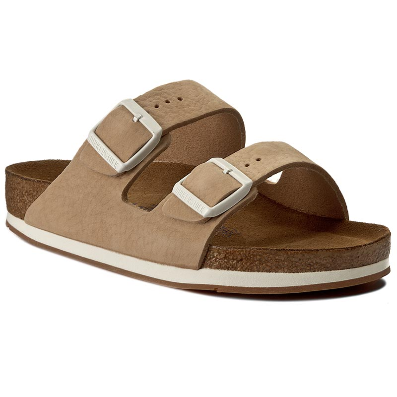 Klapki BIRKENSTOCK - Arizona 652931 Softy Beige