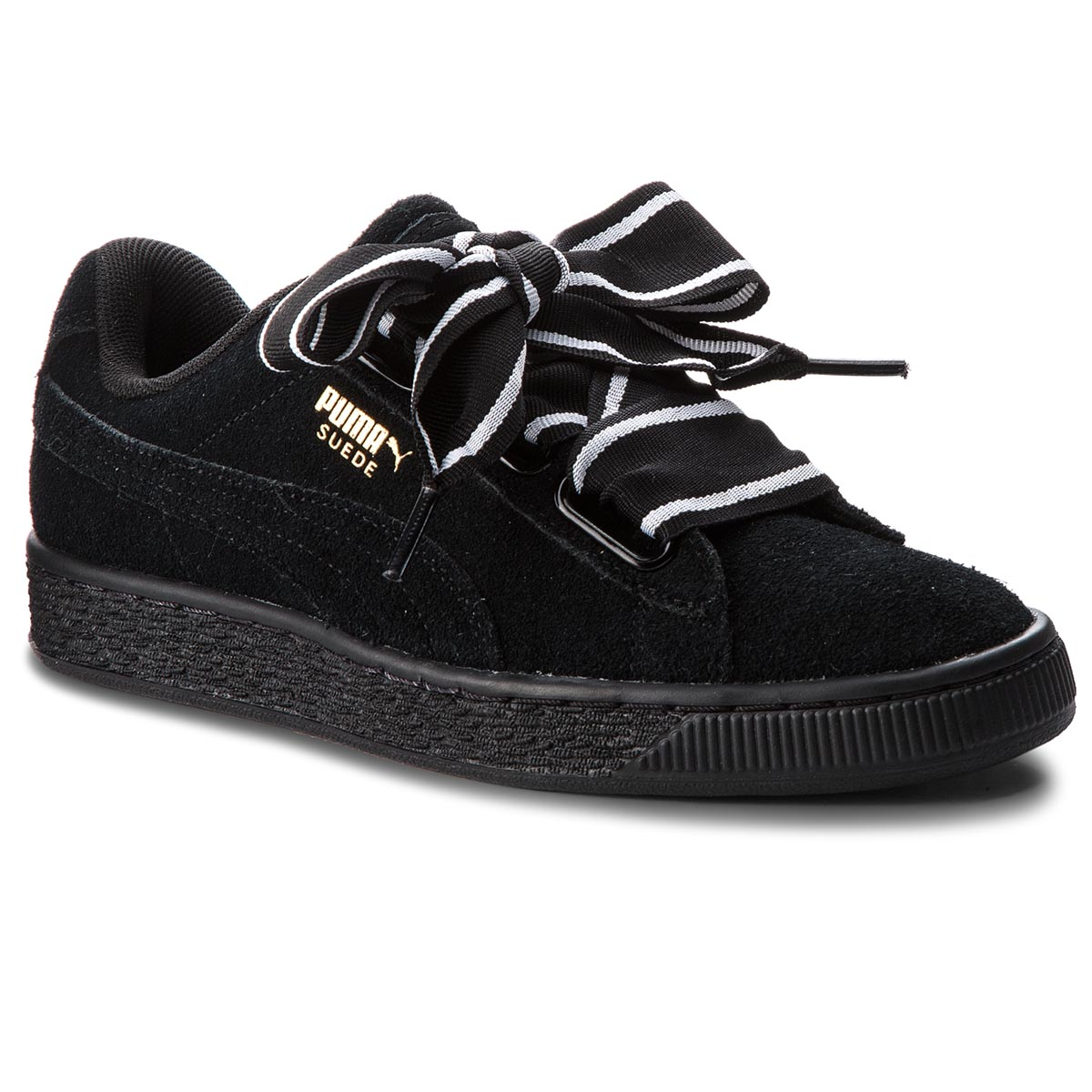 Sneakersy PUMA - Suede Heart Satin II 364084 01 Puma Black