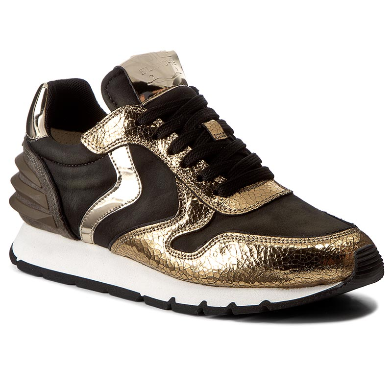 Sneakersy VOILE BLANCHE - Julia Power 0012011744.01.9106 Oro/Militare