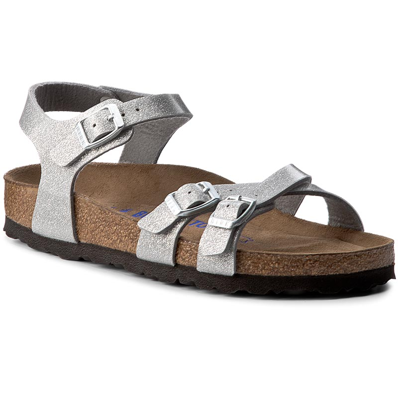 Sandały BIRKENSTOCK - Kumba Sfb 1005040 Magic Galaxy Silver