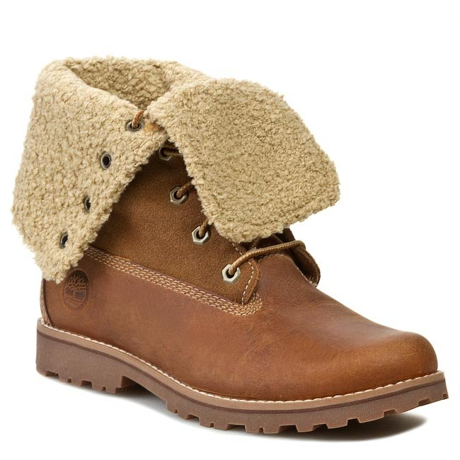 Trapery TIMBERLAND - Auth 6in Shrl Bt 50919 Brown