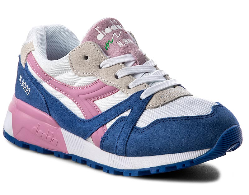 Sneakersy DIADORA - N9000 Y 501.171133 01 C6635 Princess Blue/Fuchsia Pin