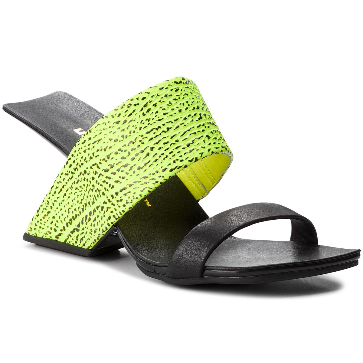 Klapki UNITED NUDE - Loop Hi 1000557111216 Neon Lime