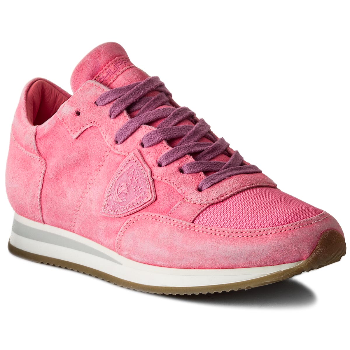 Sneakersy PHILIPPE MODEL - Tropez TRLD ND04 Neon Fuxia