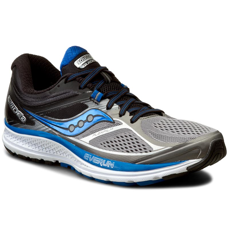 Buty SAUCONY - Guide 10 S20350-1 Gry/Blk/Blu