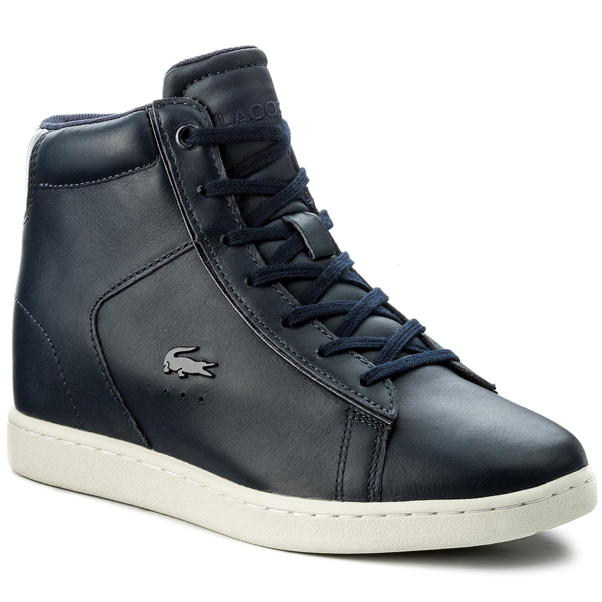 Sneakersy LACOSTE - Carnaby Evo Wedge 417 1 Spw 7-34SPW0017003 Nvy