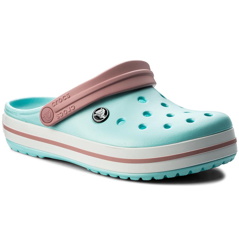 Klapki CROCS - Crocband 11016 Ice Blue/White