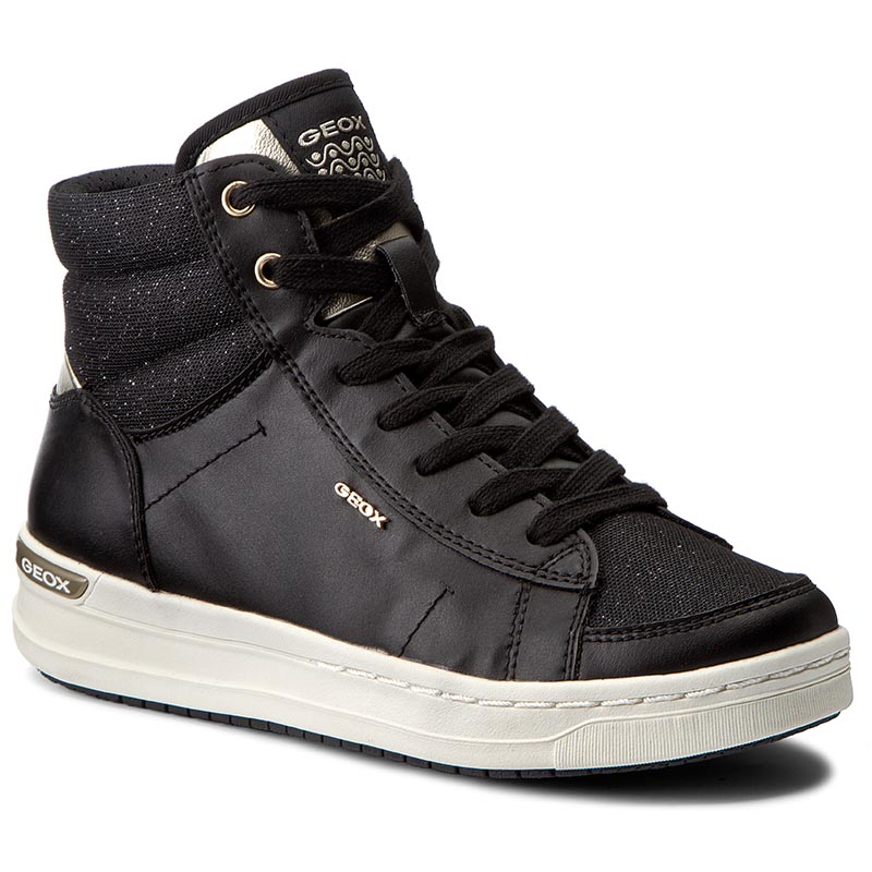 Sneakersy GEOX - J Aveup G. E J641ZE 0BCEW C0495 Black/Gold