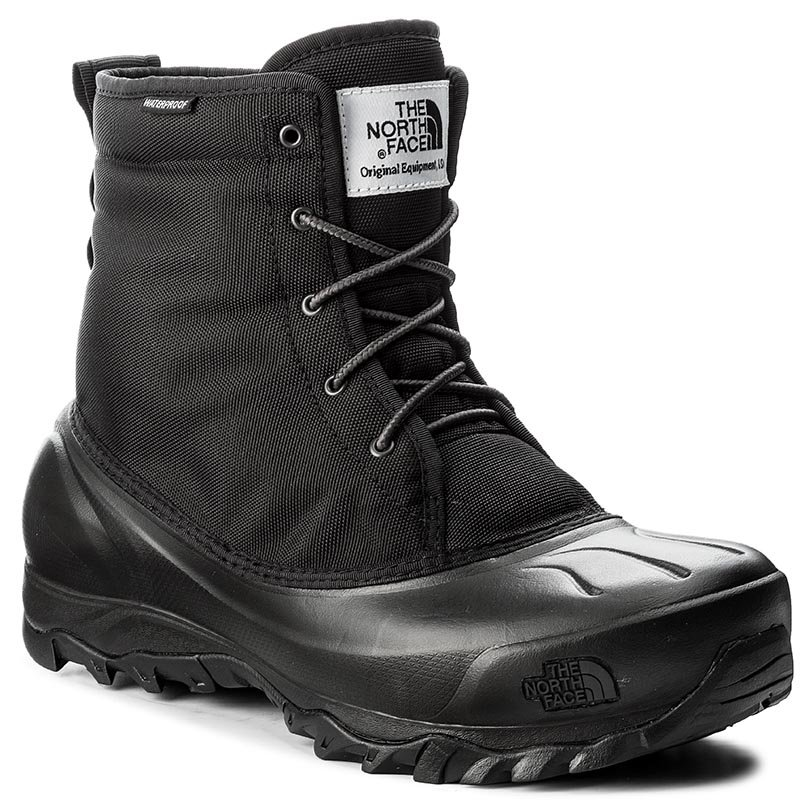 Śniegowce THE NORTH FACE - Tsumoru Boot T93MKSZU5 Tnf Black/Dark Shadow Grey
