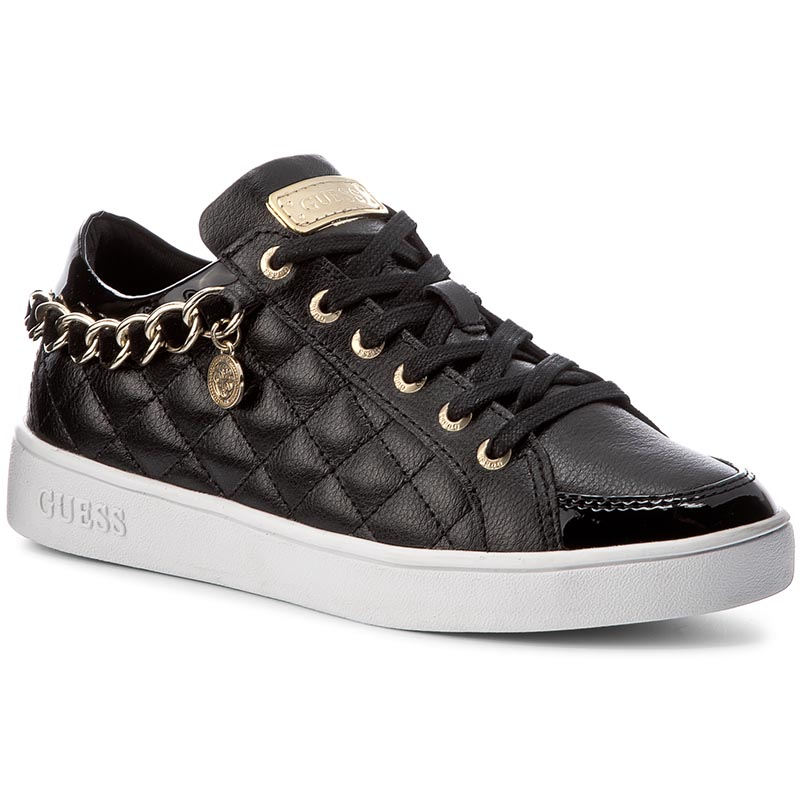 Sneakersy GUESS - Glinna FLGLI3 LEA12 BLACK