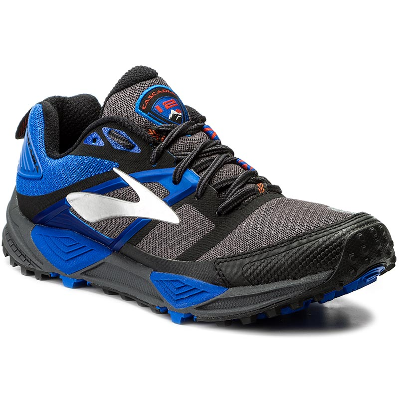 Buty BROOKS - Cascadia 12 110243 1D 098 Anthracite/Electric Blue/Black