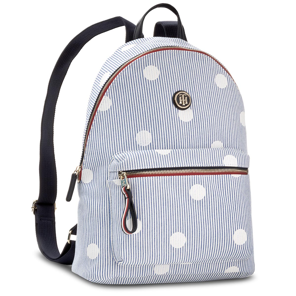 Plecak TOMMY HILFIGER - Poppy Backpack Canvas Print AW0AW05312 902